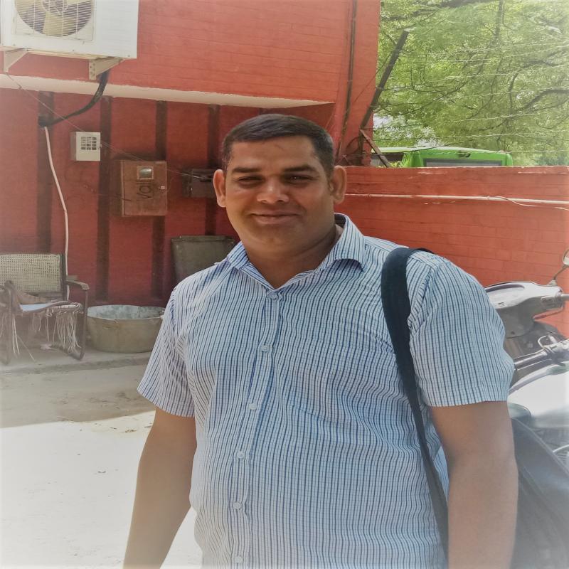 Mr. Rampal Sharma (Peon)